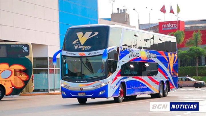 MTC: pasajeros de transporte interprovincial deberán viajar con mascarilla y protector facial