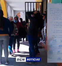Conchucos: Madres del programa de vaso de leche reclaman entrega de productos