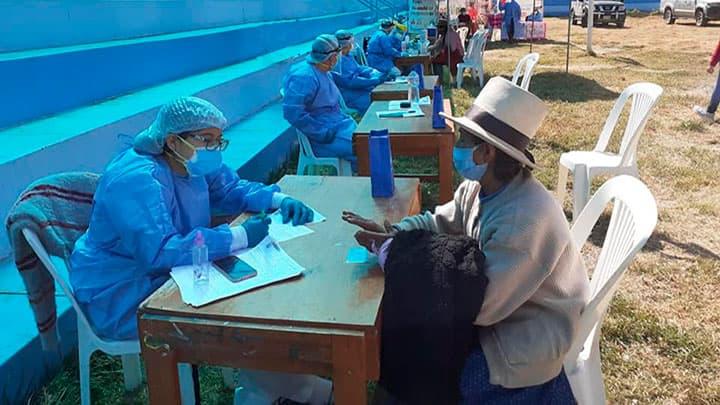 Detectan nuevos contagiados de covid-19 en Pampas y Conchucos