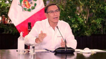 Martín Vizcarra anuncia retorno a inmovilización obligatoria los domingos