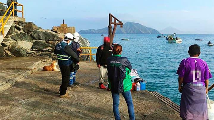 pescadores de Casma y Huarmey