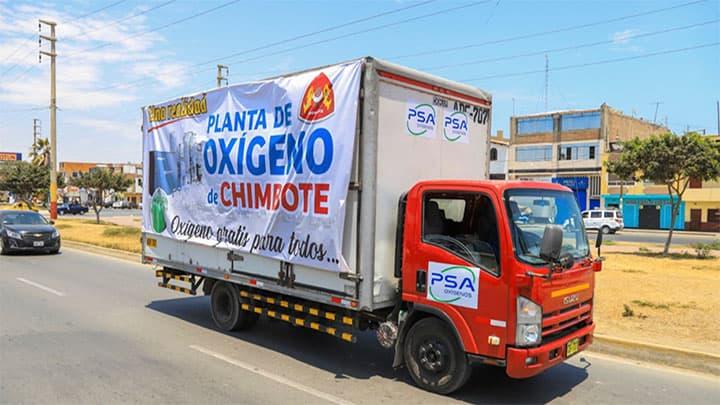 Chimbote ya cuenta con su propia planta de oxígeno