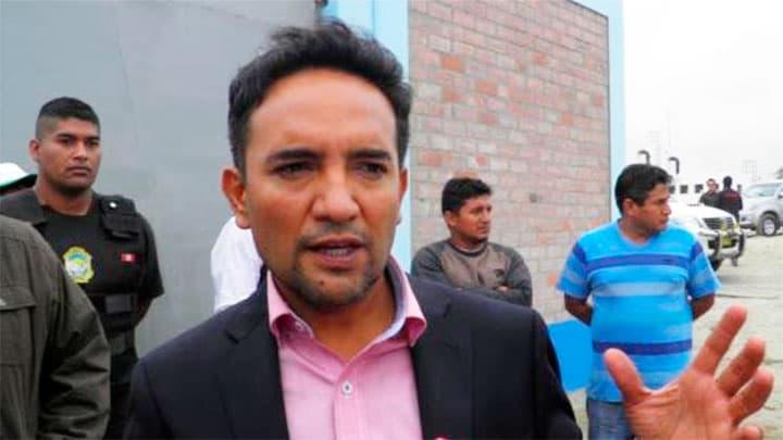 ex alcalde de Nuevo Chimbote Valentín Fernandez