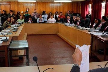 Consejo Regional debatirá suspensión del gobernador Morillo