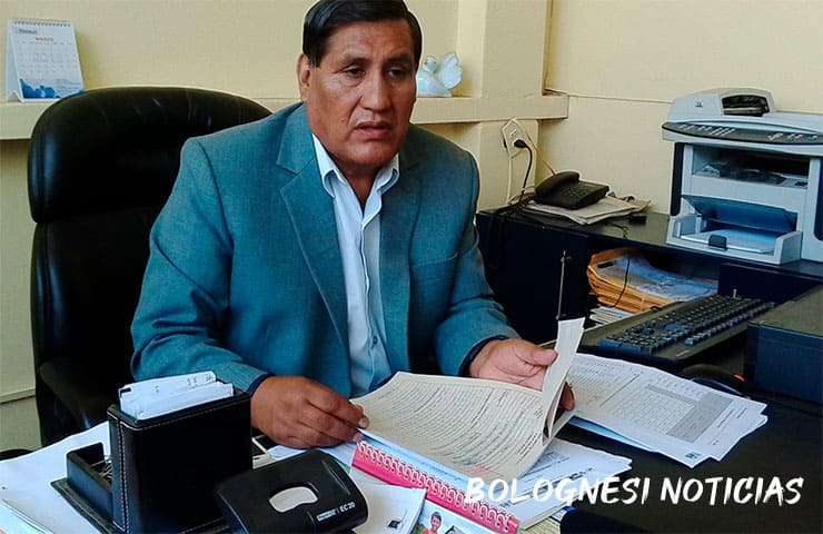 Lorenzo Miranda alcalde de Conchucos